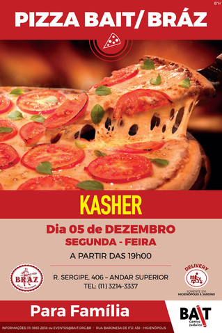 Pizza Bait / Bráz - Dezembro