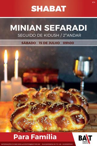 Shabat - Minian Sefaradi
