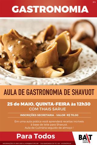 Aula de Gastronomia de Shavuot