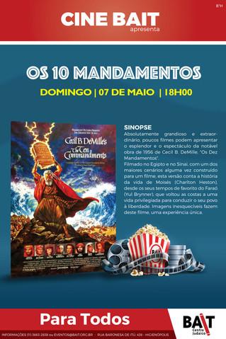 Cine Bait - Os 10 mandamentos
