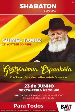 Shabaton Especial - Guimel Tamuz