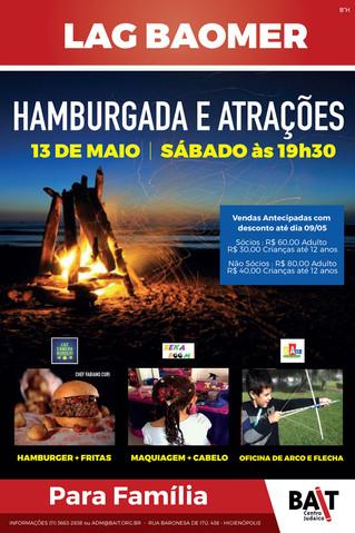 Lag Baomer - Hamburgada e Atrações