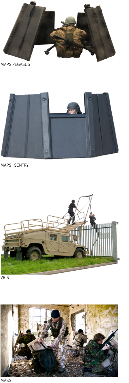 Modular Armour Protection System