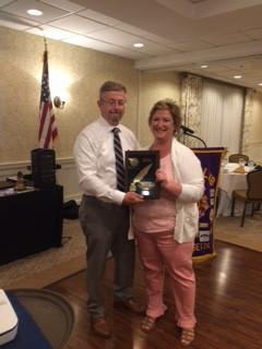 Kim Galvin Secretary Award