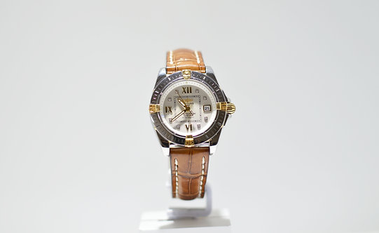Ladies Breitling Strap Watch
