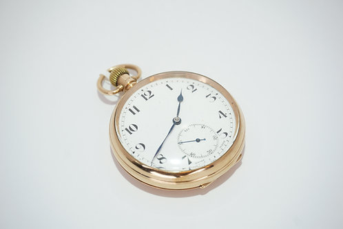 9ct Gold Dennison Special Pocket Watch