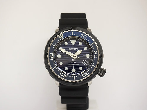 "Seiko Prospex ""Save The Ocean"" Solar Tuna Diver's Watch"