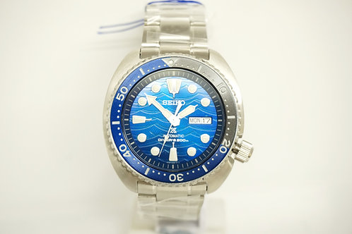Seiko Save the Turtle Front