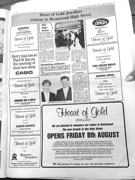 Heart of Gold Brentwood
