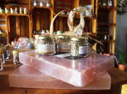 Tábua de sal rosa