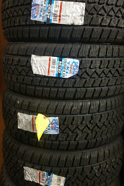 Set of 4 - 215/60/15 NEW Artic Claw SNOW Tires