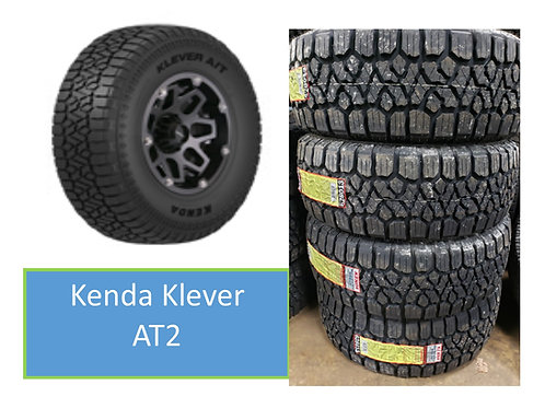 Set of 4 - LT 285/70/17 NEW Kenda Klever All Terrain Tires