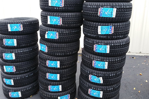 copy of set of 4 new federal snow tires