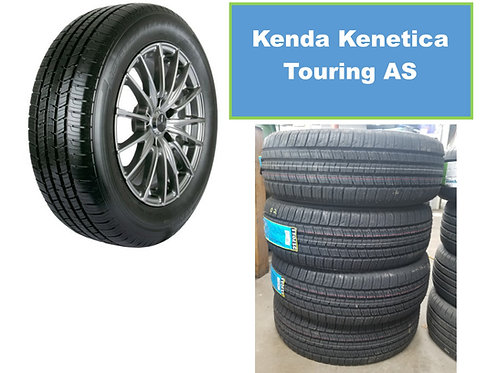 Set of 4 - 185/65/15 NEW Kenda Kenetica Touring Tires
