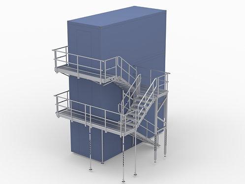 Treppenturm-Modul