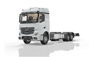 Derzeit bauen wir mit unserem Nutzfahrzeugpartner FGM einen Kranwagen mit der Firma Fassi Ladekran GmbH auf.