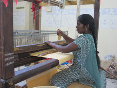 Weaving yellow napkin  cloth