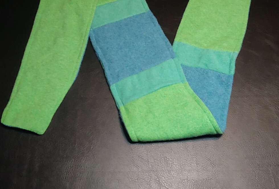 Blue / Green Cashmere Scarf