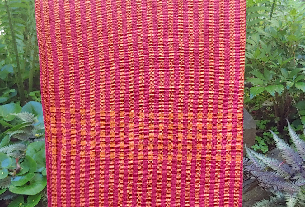 Rasa Red Handwoven Towel