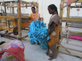 Gathering Finished Cloth