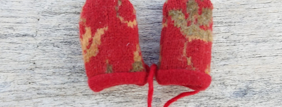 Wool / Cashmere Baby Mittens