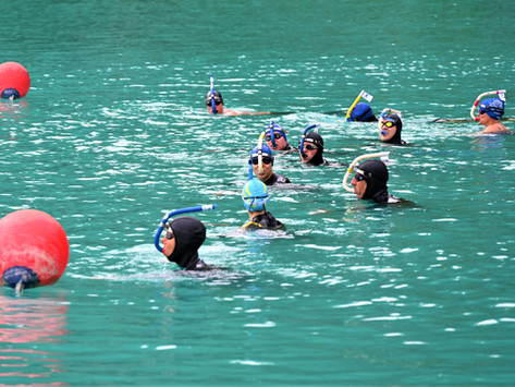 Beau succès pour le premier Aquani Open Water!