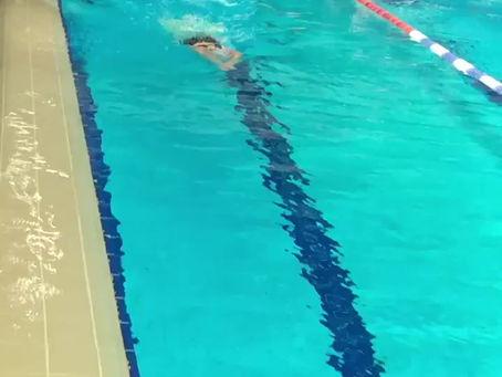 Les plus jeunes retrouvent le chemin de la piscine...