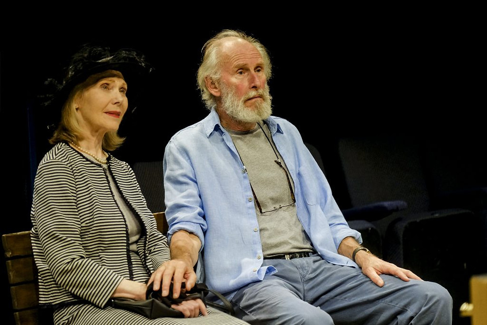 Eileen Battye as Jessica and Christopher Godwin as Algy.