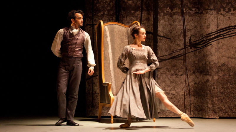 Dreda Blow as Jane and Javier Torres as Rochester