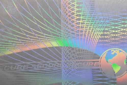 Lámina holograma