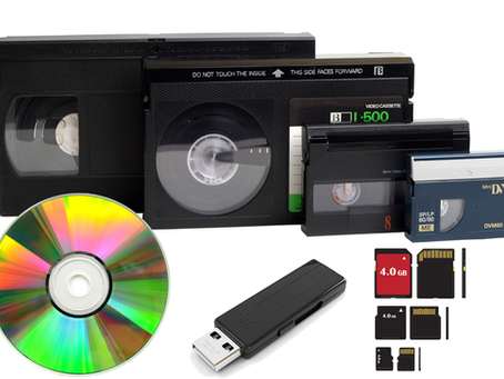 Digitaliza tus VHS o Mini DV a un DVD