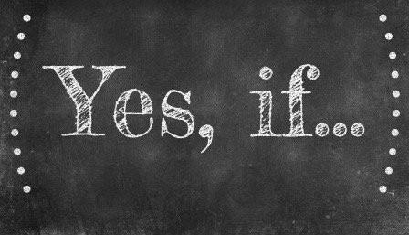 Saying Yes to Saying No