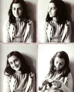 4 pics of Anne Frank