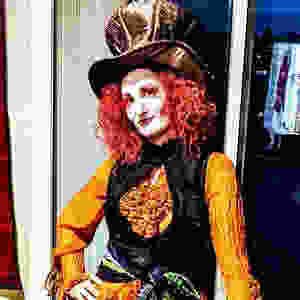 Me dressed as The Mad Hatter