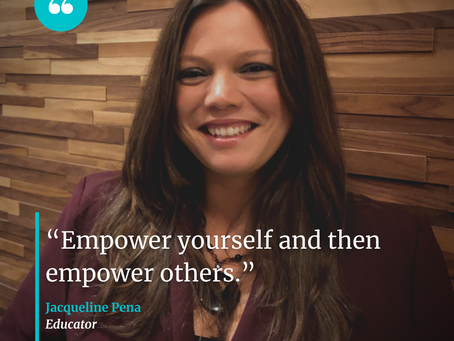 Embrace Your Story w/ Jacqueline Pena, Educator