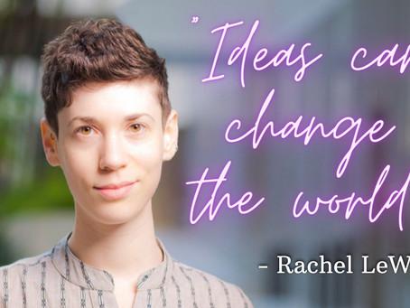 How Ideas Spread w/ Rachel LeWitt