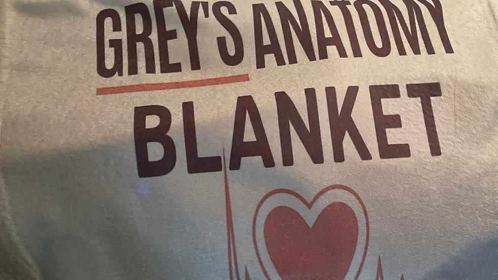 Greys anatomy blanket