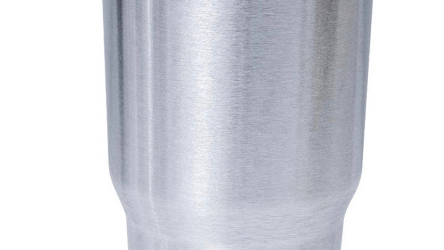 30 oz stainless steel tumbler with lid and straw