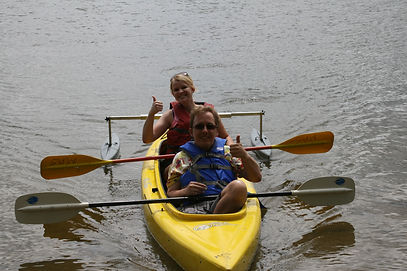 Adaptive Sport Kyaking Recreational Ther