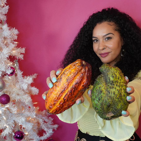 Influencer, Angela Scarfia Uses Exotic Fruit and Social Media to Drive plant-based Change