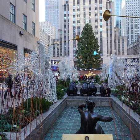 Holiday Season at Rockefeller Center Continues with Covid-19 Precautions