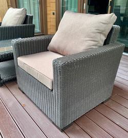 Кресло из искусственного ротанга (059)
