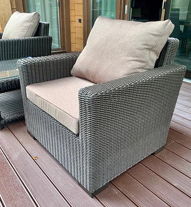 Кресло из искусственного ротанга (арт. 01-116)
