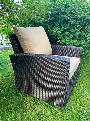 Кресло из искусственного ротанга (арт. 01-127)