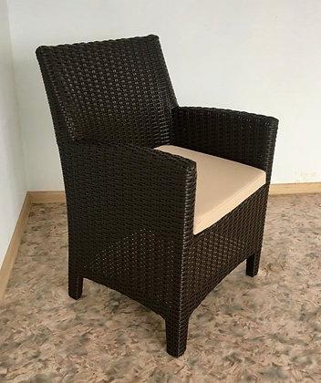 Кресло из искусственного ротанга (арт. 01-128)