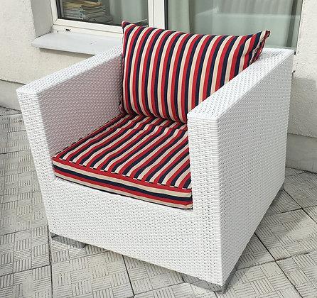 Кресло из искусственного ротанга (арт. 01-104)