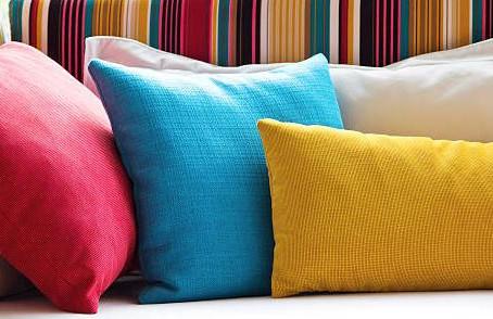Как выбрать подушки для мебели