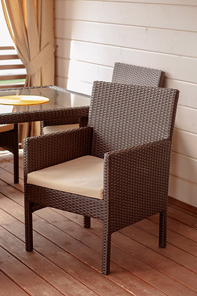 Кресло из искусственного ротанга (арт. 01-114)