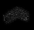 Модули и диваны из искусственного ротанга