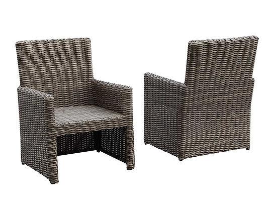 Кресло из искусственного ротанга (арт. 01-115)